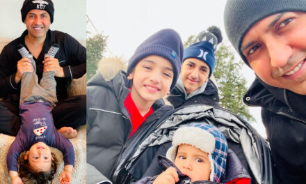 Gippy Grewal's Video of His Insta-Adorable Son, Gurbaaj, Taking Baby Steps Goes Viral