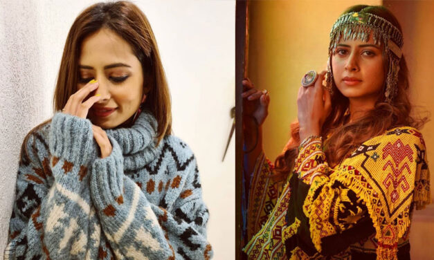 Sargun Mehta's Instagram Pictures Tell Us That Her Wardrobe Is Ready for The Wedding Season